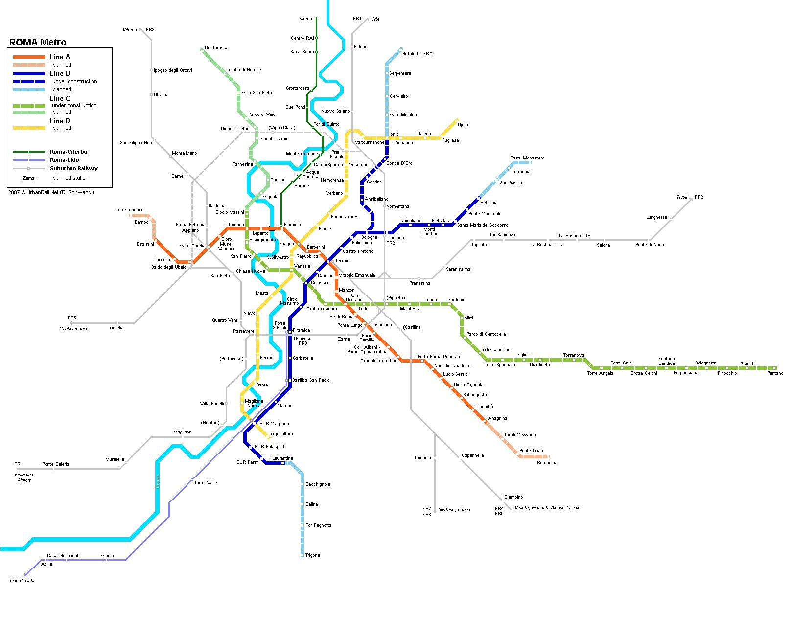 Pin By C Swafford On Bella Italia Metro Map Rome Map Map