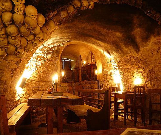 Awesome Medieval Tavern in Prague.