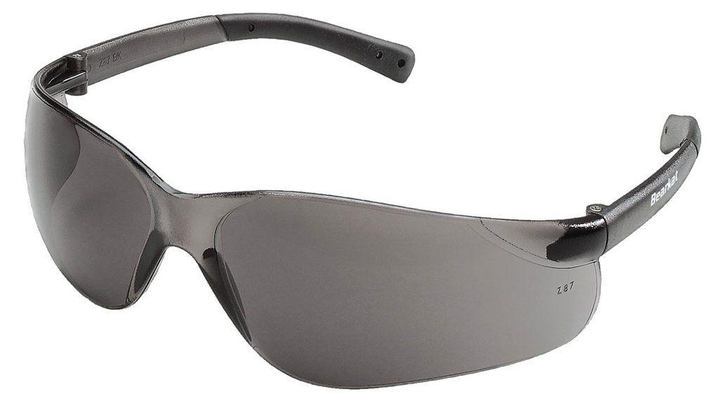 7366270836 BEARKAT® - Grey Tinted Lens Safety Glasses - Case of 12