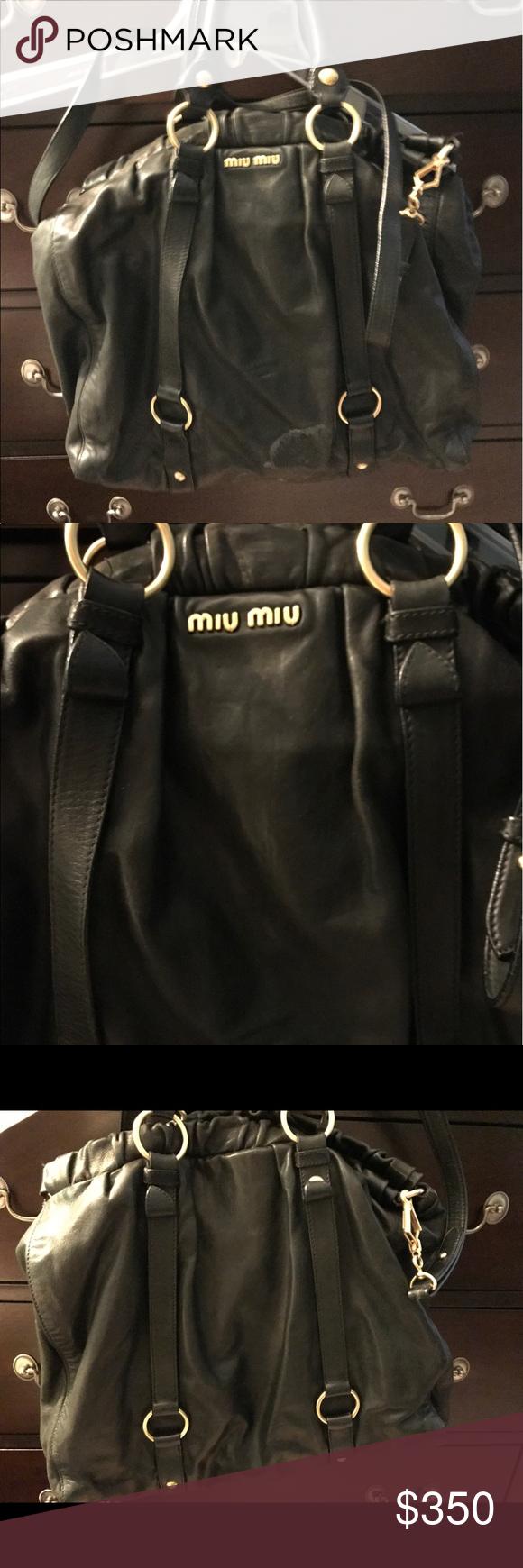 Miu Miu leather satchel Chic miu miu satchel. Beautiful Italian leather.  Classic Miu Miu ac4e4cf81d
