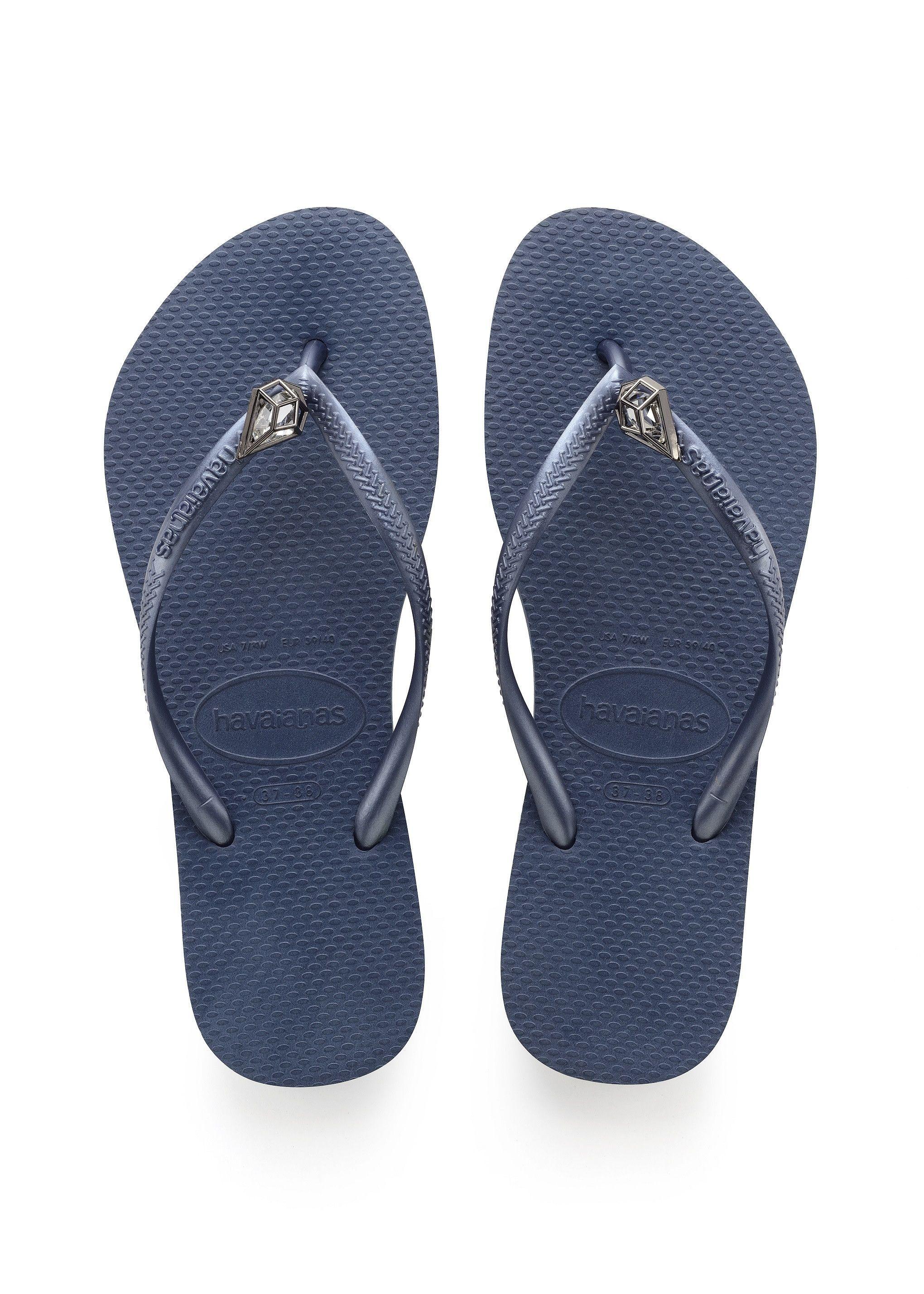 Havaianas Slim Epic Sandal Indigo Blue Com Imagens Havaianas Havaianas Slim Chinelo