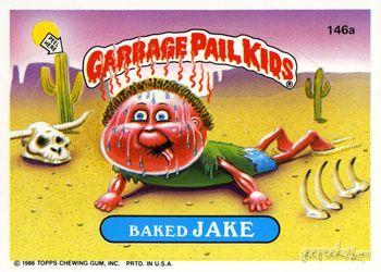 Garbage Pail Kids Original Series 4 Card Collection Garbage Pail Kids Garbage Pail Kids Cards Garbage