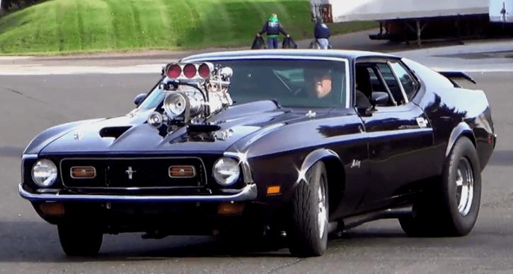 Big Bad Blown Ford Mustang Pro Street Beast Video Mustang