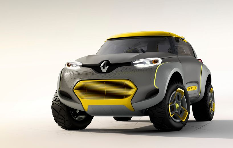 Renault Kwid Concept W Flying Companion An Off Road Car With Built In Drone Quadcopter Renault Concept Car Design Concept Cars