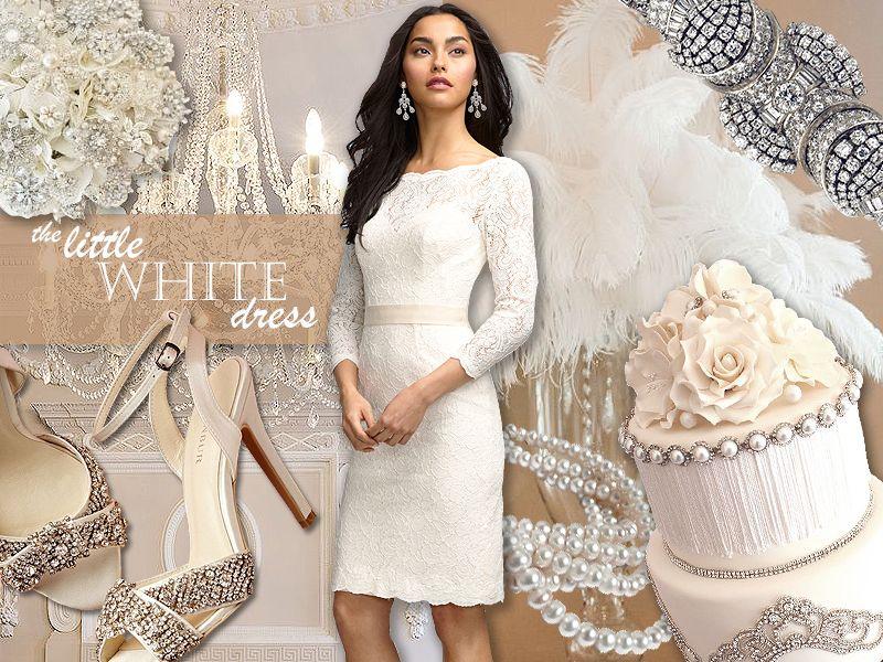 The Little White Dress Watters Wedding Littlewhitedress Www Pinterst