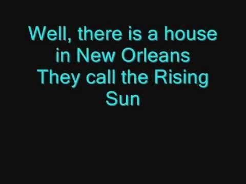 The Animals House Of The Rising Sun Lyrics Youtube Rising Sun Lyrics Lyrics House Of The Rising Sun,Leonardo Dicaprio Movies And Tv Shows