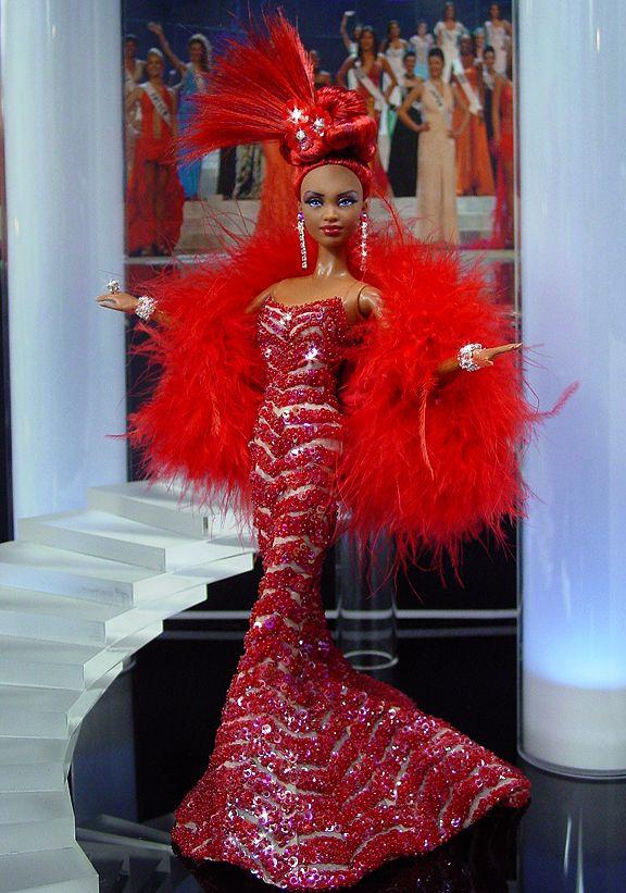 OOAK Barbie NiniMomo's Miss Atlanta 2011