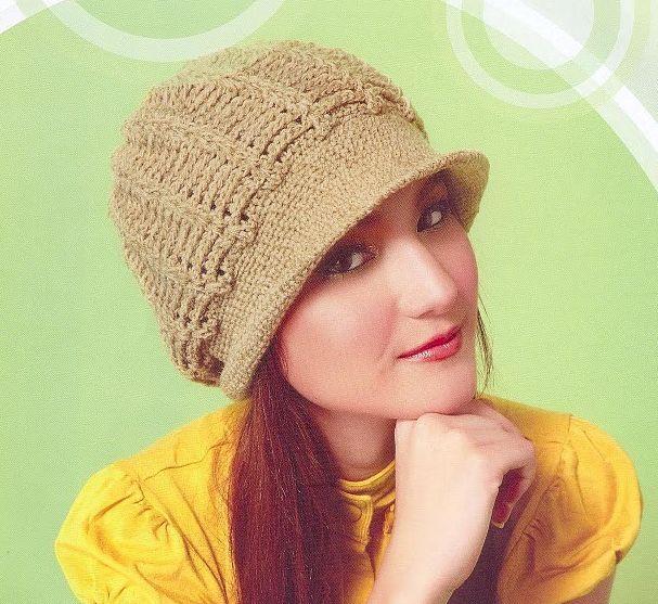 Patrón #1169: Gorro a Ganchillo | CTejidas [Crochet y Dos Agujas ...