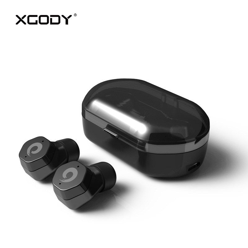 0b53a18c95d Cheap XGODY F8 In-Ear Wireless Earphones Bluetooth V5.0 Handsfree HiFi Mini  Cordless Earbuds Live Waterproof for iPhone for Smartphone