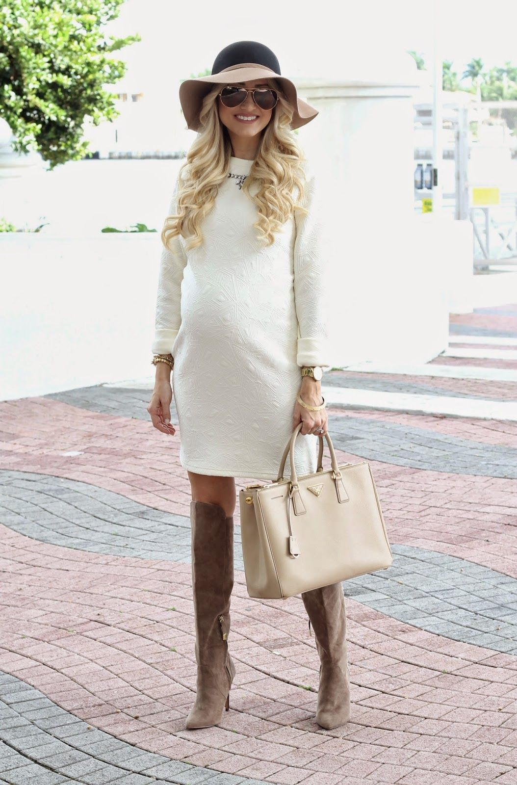 A spoonful of style pregnancy fashion pinterest maternity maternity fashion inspirational all white outfit ombrellifo Image collections