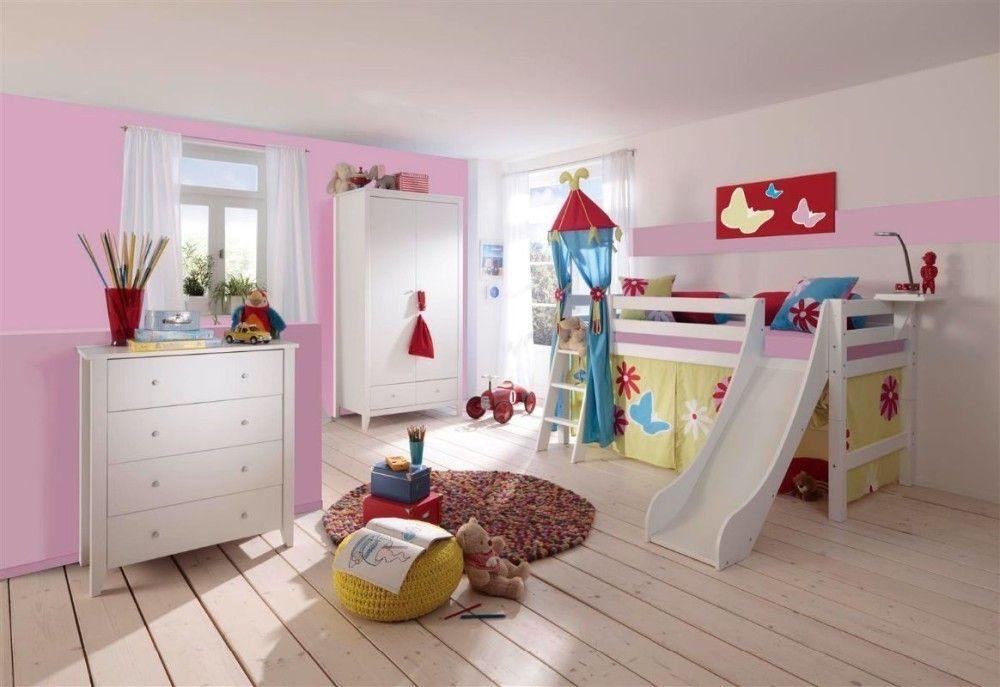 Cama Con Tobogán Cojines Y Cortinas Incluido Bed Toddler Bed Loft Bed