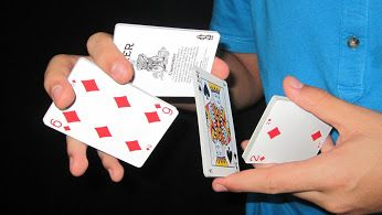 pin by shawn mcdowell on magic card shuffling tricks, card tricksattentive assessed cool magic trick look at this now