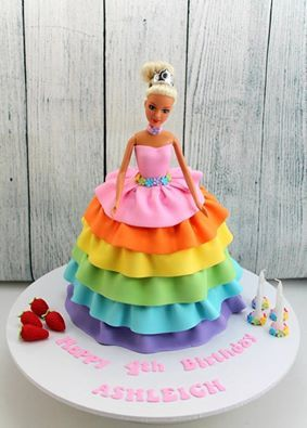 Barbie Doll Princess Cake All Buttercream Cakes And Cookies - Birthday cake doll princess
