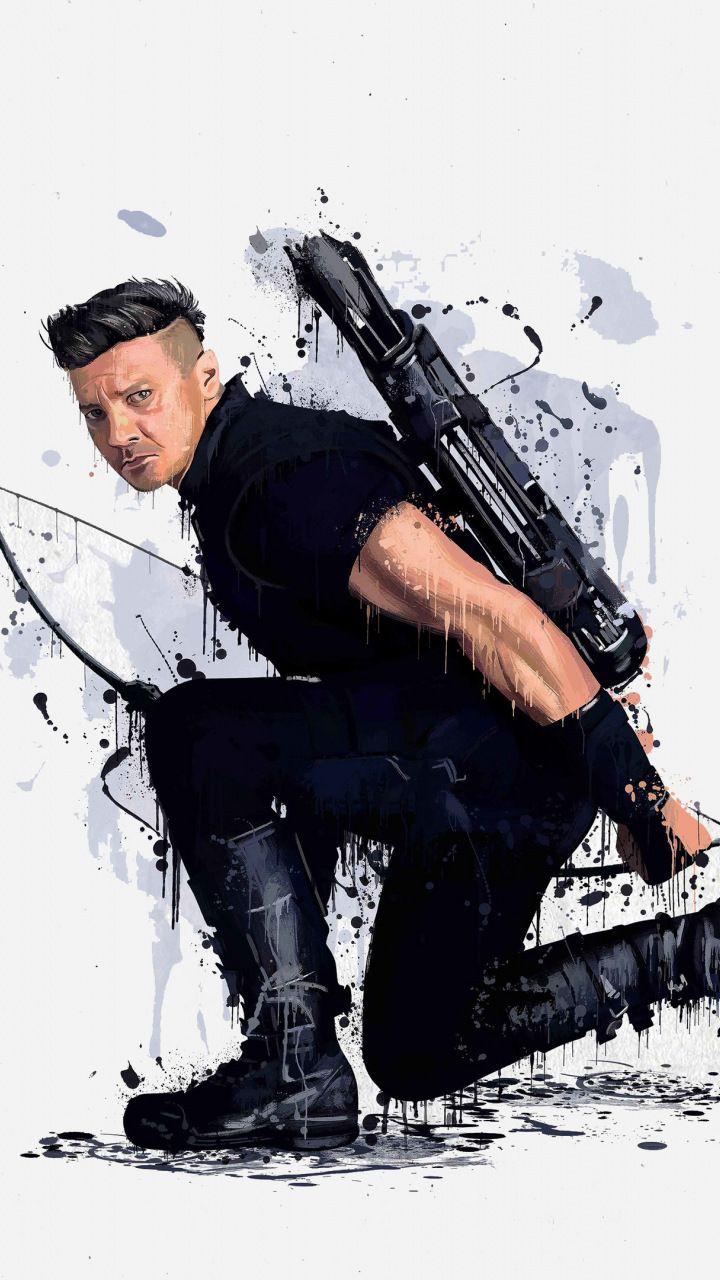 hawkeye, avengers: infinity war, 2018, 720x1280 wallpaper