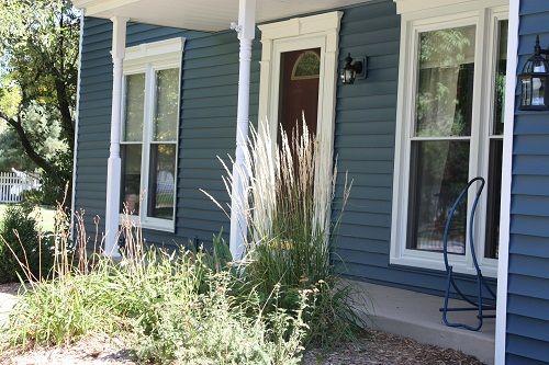 Aspen Creek 25 In Heritage Blue Paint Colors In 2019 Blue Vinyl Siding Vinyl Siding House