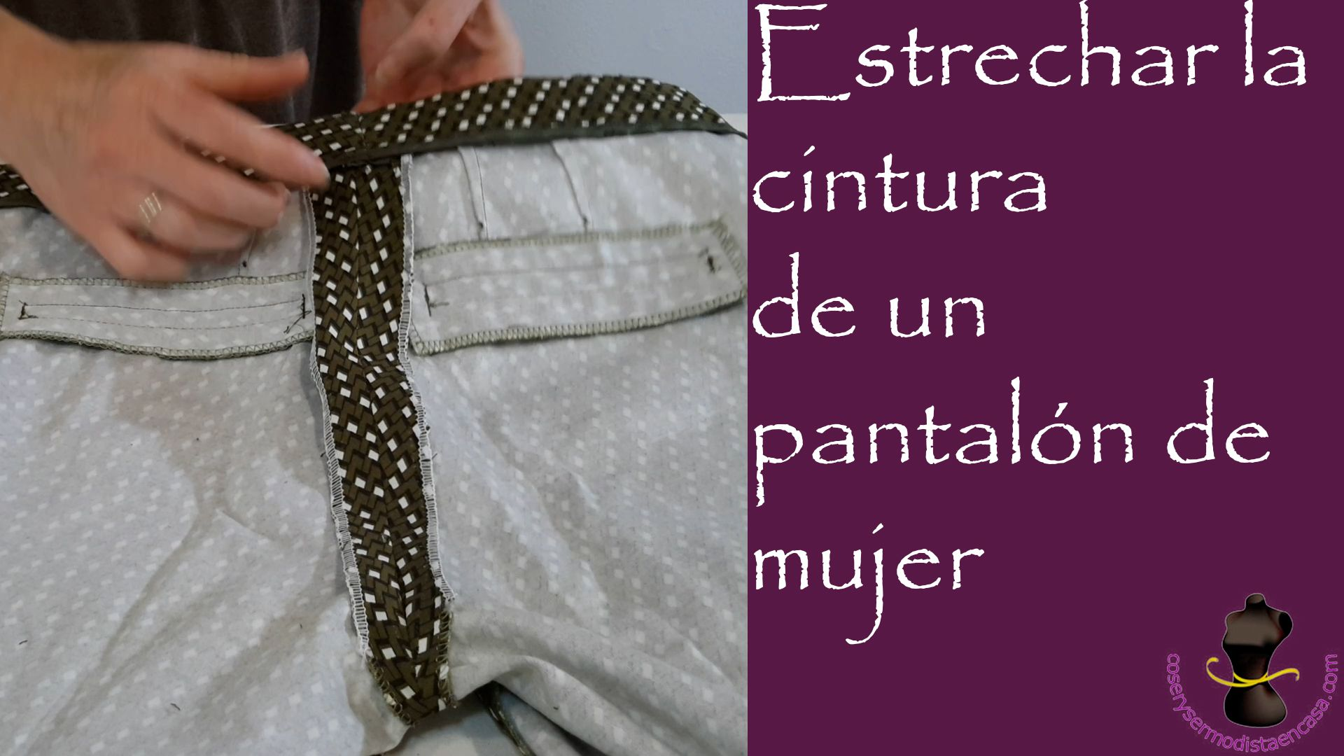 How La The Cintura De Mujer To Adjust Estrechar Un Pantalón SqVpGUzM