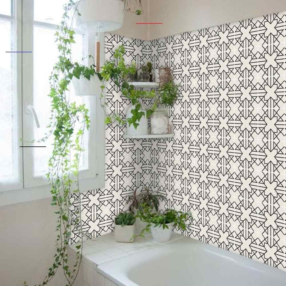 Kitchen And Bathroom Splashback Removable Vinyl Wallpaper Antioche Peel Stick Bathroomsplashback Cement Til In 2020 Vinyl Wallpaper Badezimmer Spritzschutz