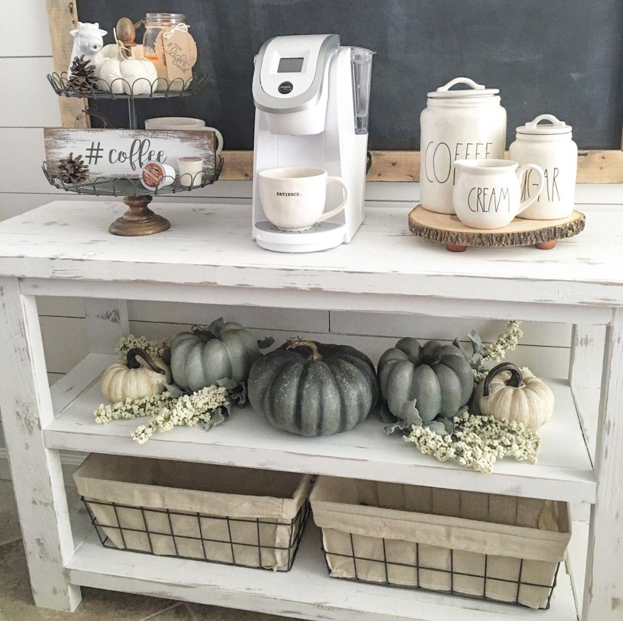 Fall Coffee Bar Station Coffee Bar Home Decor Home Decor