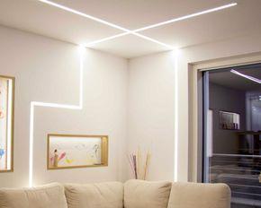 Lampade led a cm strisce led per soggiorno stilluce store bergamo