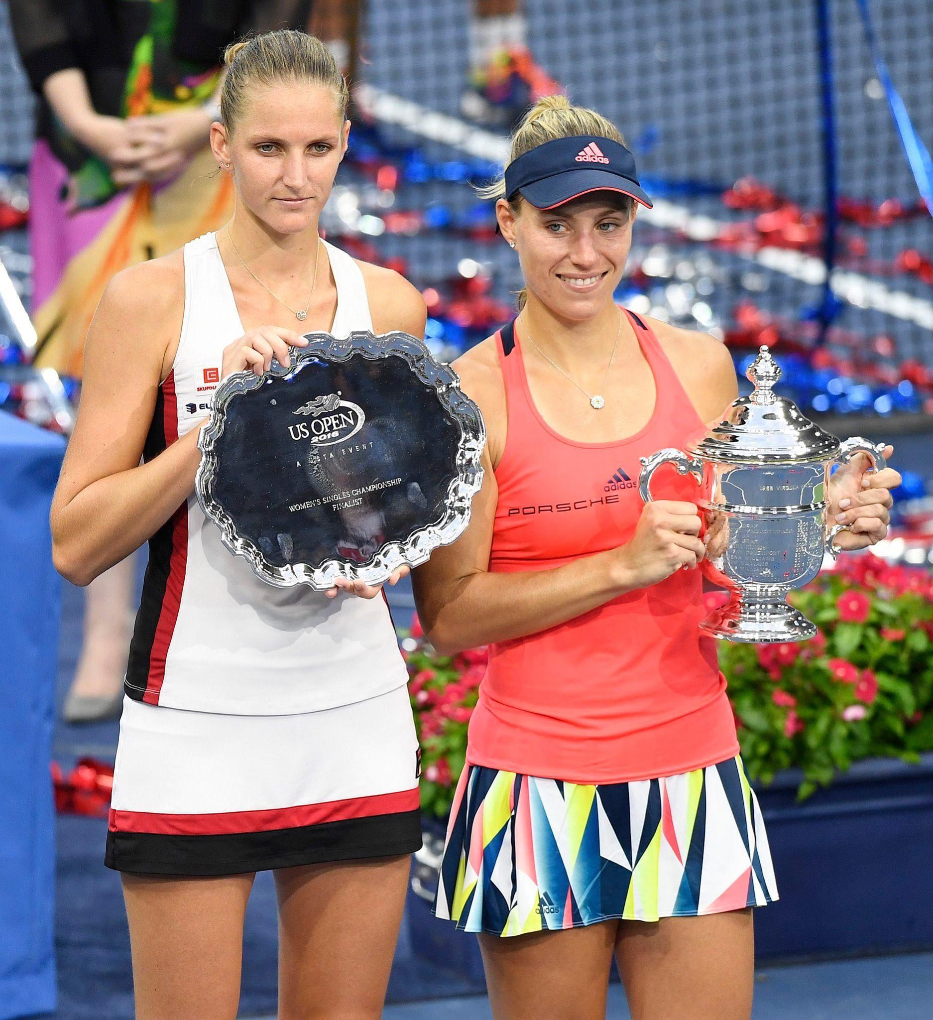 Karolina Pliskova et Angelique Kerber, finale US Open 2016