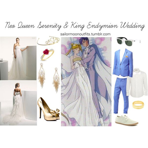 """Neo Queen Serenity Cosplay: """"Neo Queen Serenity And King Endymion Wedding"""" By"""