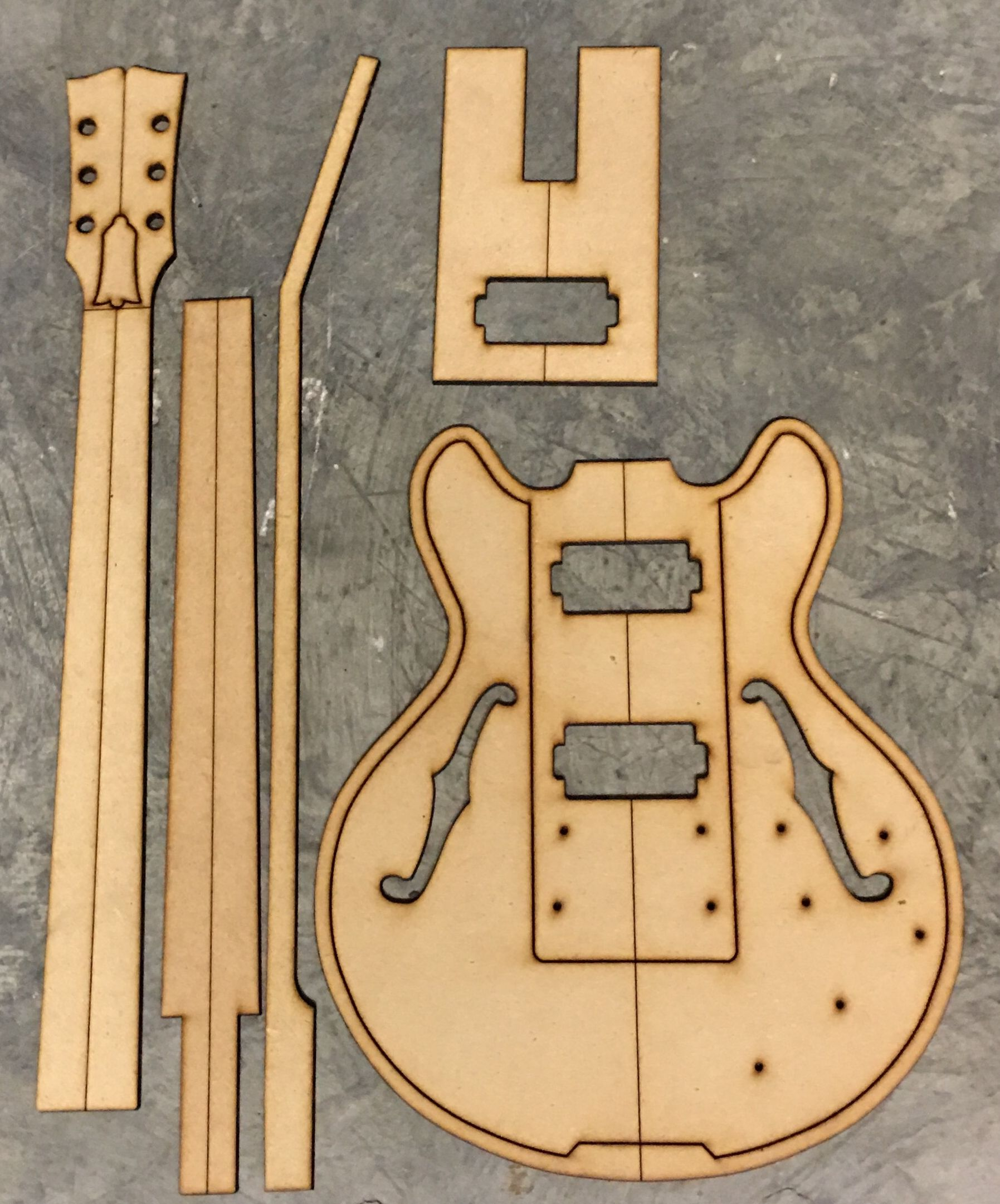 ES 336 — Guitar Building Templates