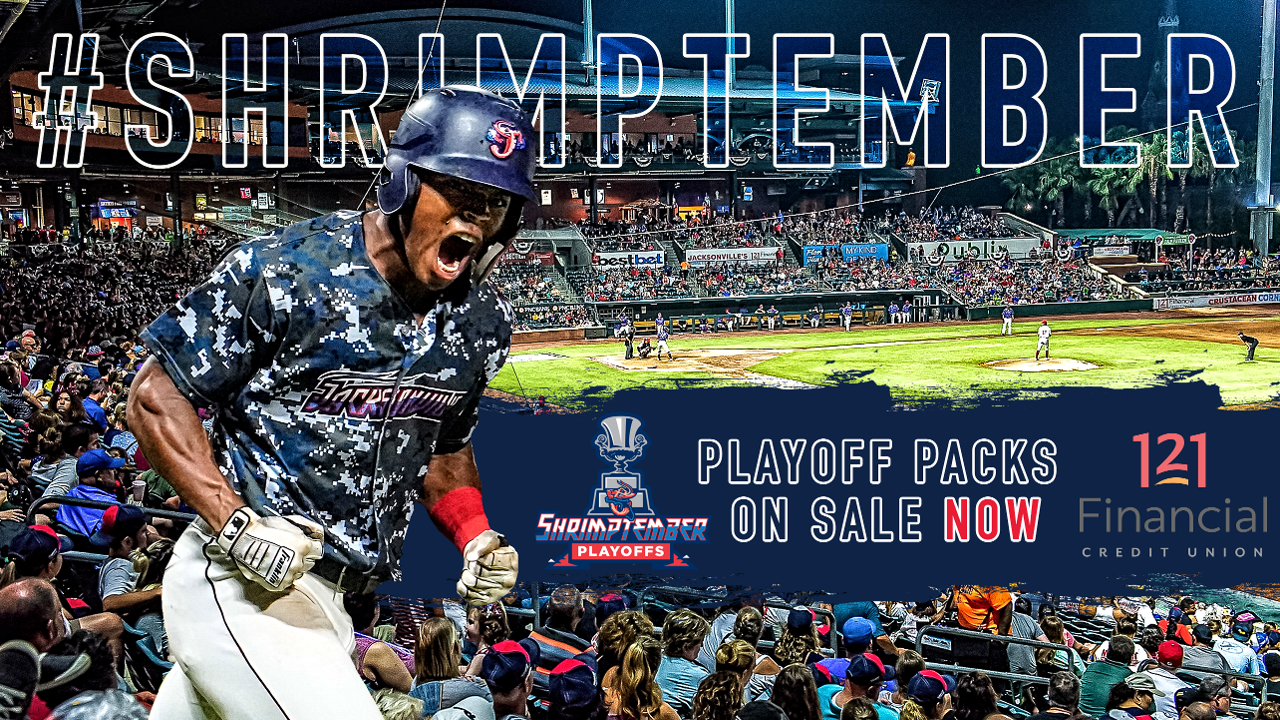 Jumbo Shrimp playoff ticket packages on sale now Season