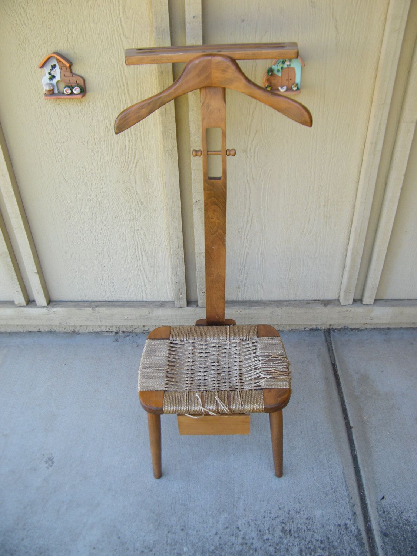 Vintage Danish Hans Wegner Style Butler/Valet Chair by 15degrees on Etsy - Vintage Danish Hans Wegner Style Butler/Valet Chair Hans Wegner