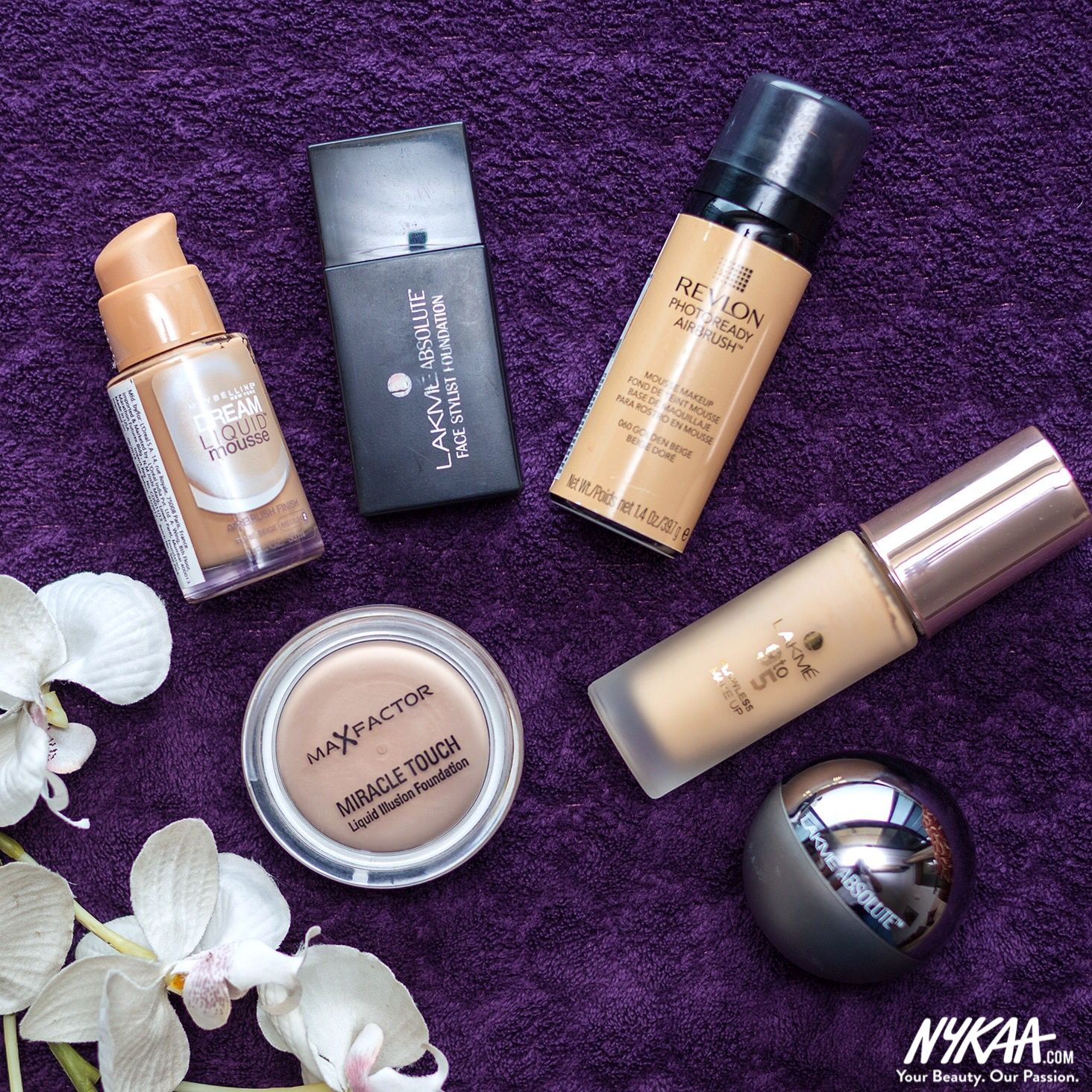 Because you know it's all about that #base!  #Makeup #Beauty #Foundations #Love #InstaGood #Awesome #InstaDaily #Nykaa