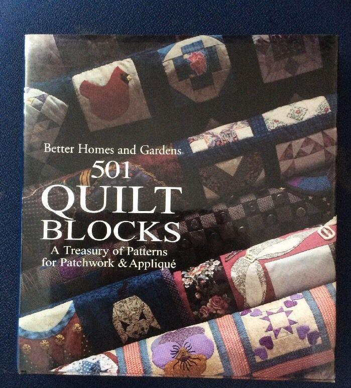 Details about Vintage Better Homes And Gardens 501 Quilt Blocks ... : 501 quilt blocks - Adamdwight.com