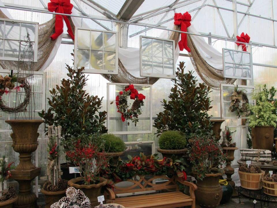 Retail Store Ideas Garden Center Displays Christmas Display Christmas Garden