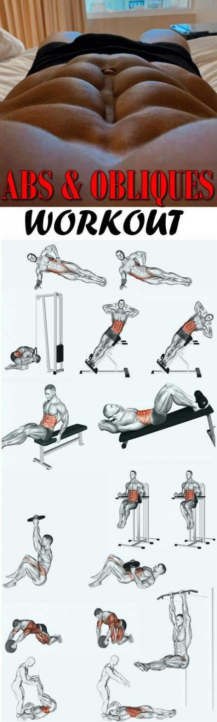 Fitness workouts for men six packs 46+ new Ideas #fitness