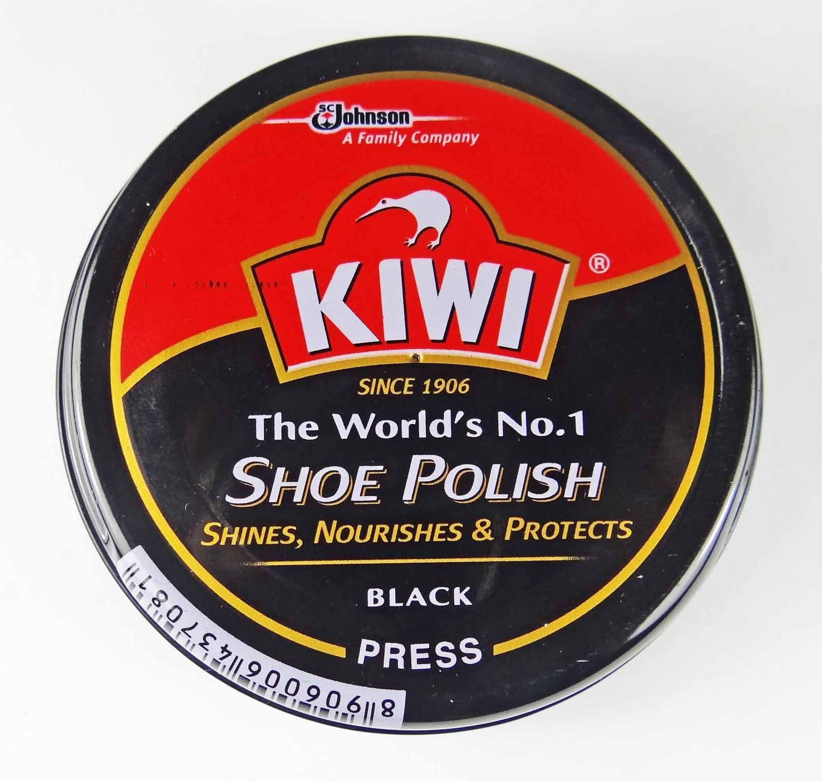 Protects /& nourishes Your Shoes 23g New KIWI Wax Rich Shoe Polish Shines