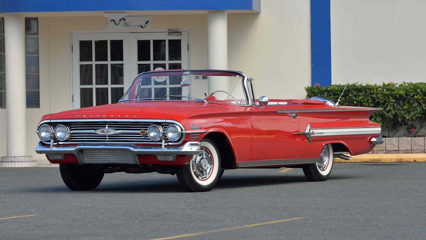 1960 Chevrolet Impala Convertible Presented As Lot T194 At Kissimmee Fl Chevrolet Impala Chevrolet Impala