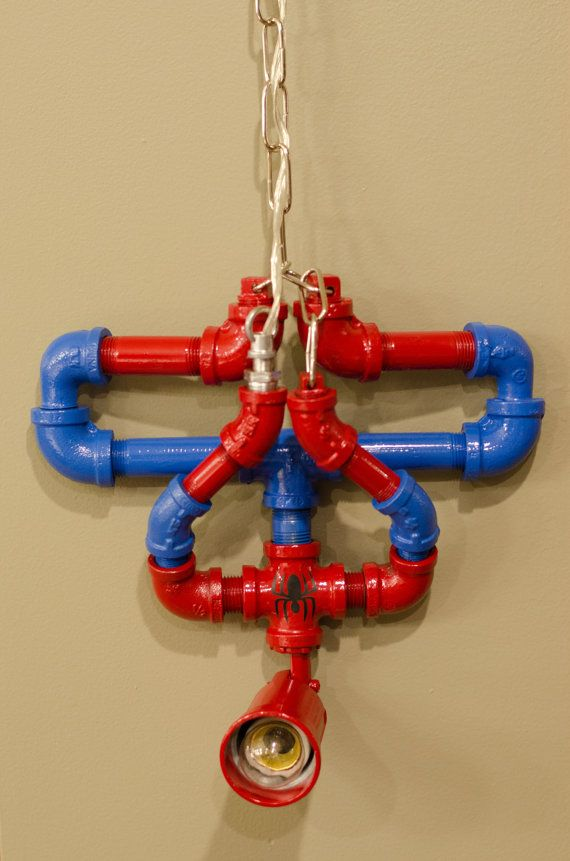 Items Similar To Upside Down Spiderman Lamp On Etsy