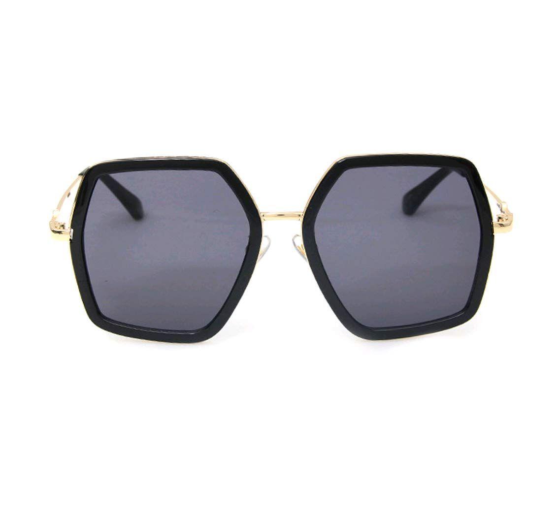 bd6e9f6ce646 Amazon.com: GAMT Oversized Square Sunglasses Women Vintage UV Protection  irregular Brand Designer Shades Black: Clothing | @giftryapp