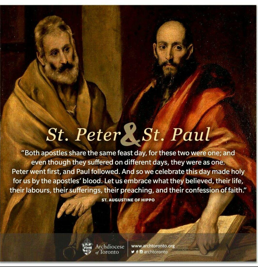 Pin by Savio on June Saint quotes catholic, Paul the