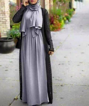 73f9a76b1 ازياء محجبات 2017 احدث موضة ملابس محجبات مودرن | Hijab Fashion ...