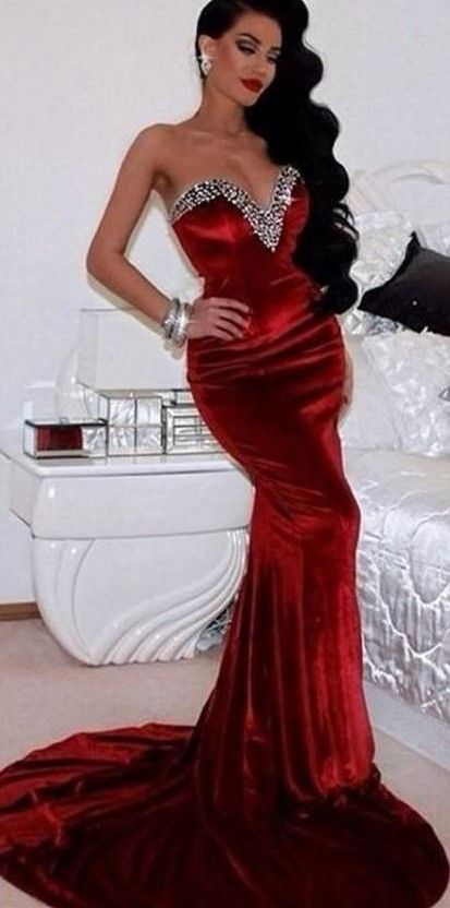2020 Dark Red Evening Gowns Sexy Off the Shoulders Beaded Velvet Mermaid Prom Dresses #emodresses 2020 Dark Red Evening Gowns Sexy Off the Shoulders Beaded Velvet Mermaid Prom Dresses #Promdresses #Promgown #Promoutfits #Weddinggowns #wedding #weddings #bridal #weddingdress #weddingdresses #bride #fashion #emodresses
