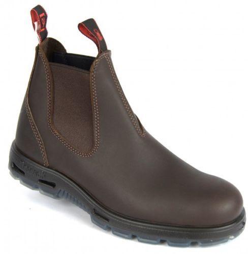Original Redback Unpu Mens Non Steel Toe Work Boots Puma Brown Water Resistant Boots Work Boots Steel Toe Work Boots