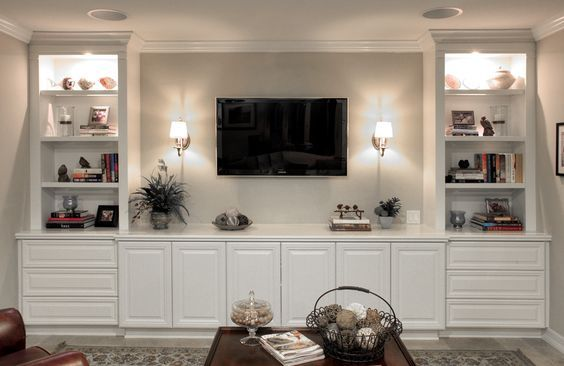 custom entertainment units – Google Search | Living room decor ...