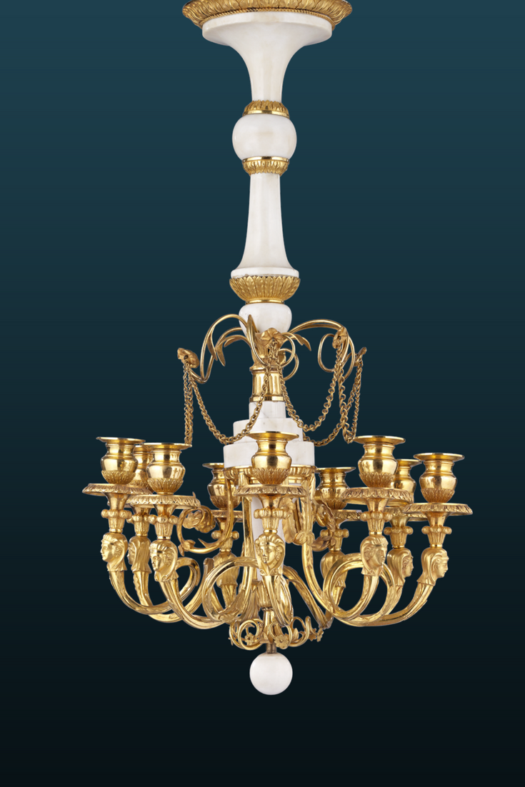 This Exceptionally Rare Chandelier Is A Shining Example Of Russian Decorative Art It Perhaps