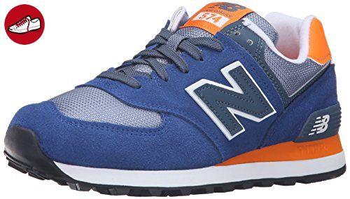 New Balance Wl574cpm 574 Damen Laufschuhe Mehrfarbig Navy Orange 417navy Orange 41 Zapatos New Balance Zapatillas Running Hombre Zapatillas Running