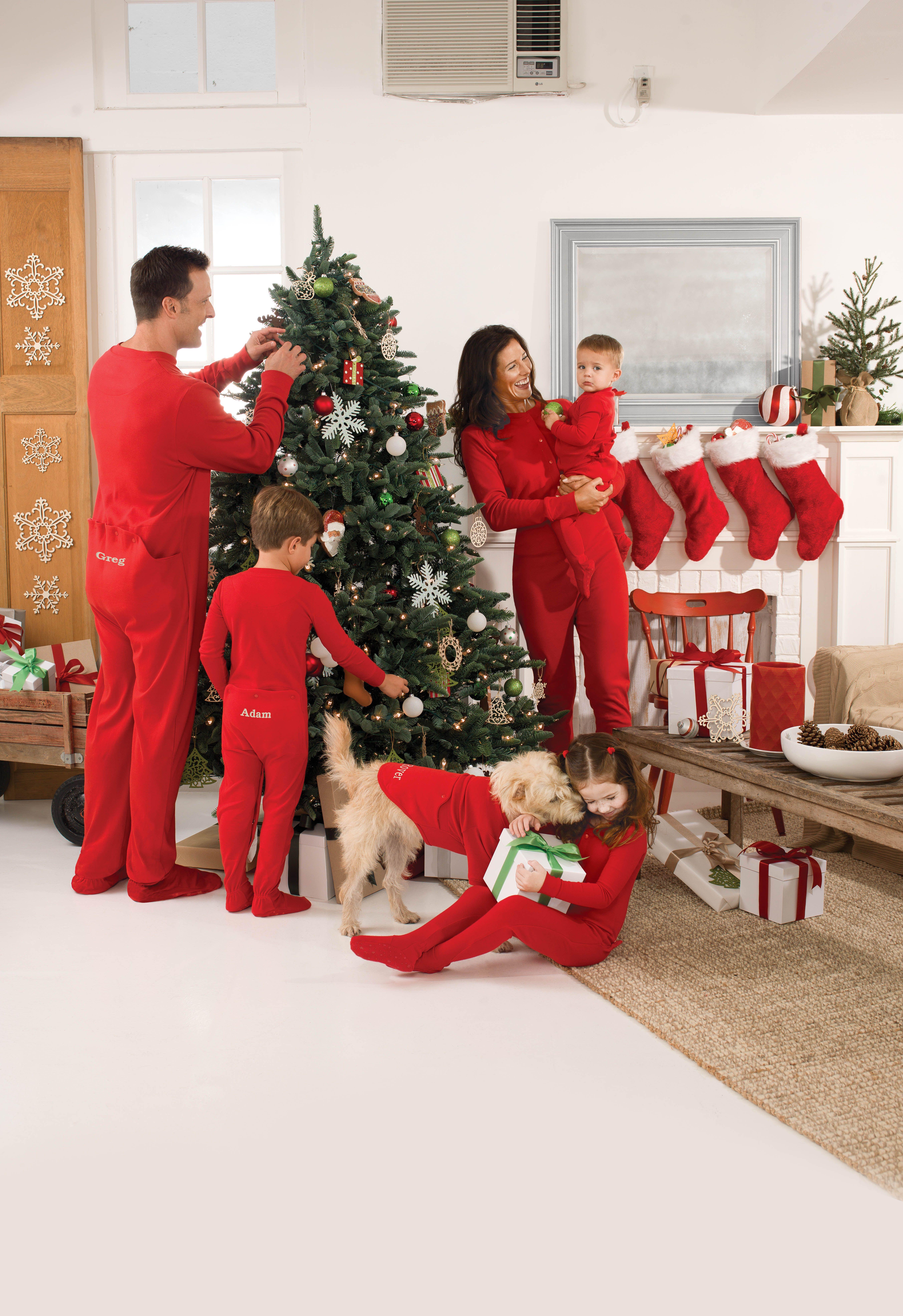 a2274b0478 Red Dropseat Matching Family Pajamas - PajamaGram