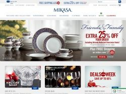 Use Mikasa Coupon Code To Save An Extra 25 Off Your Order Of 100 Or More Exclusions Apply Coupons Mikasa The 100