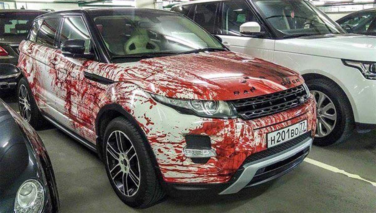 50 Interesting Custom Car Wraps Page 17 Of 57 Van Truck And Car Wraps Car Wrap Range Rover Range Rover Evoque