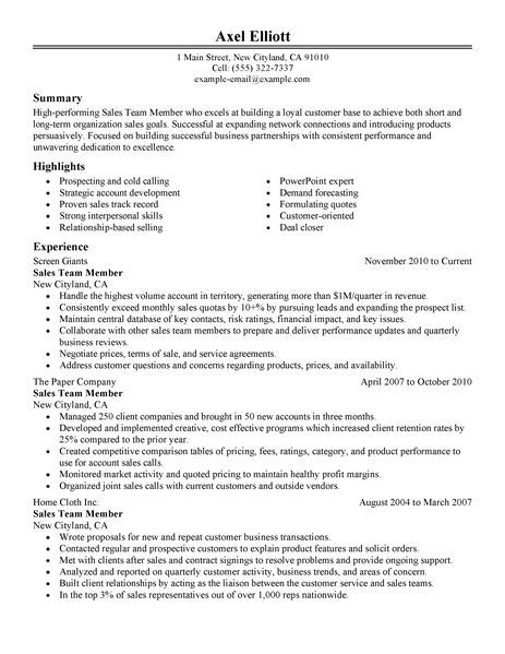 Resume Member Of Team  Opinion Of Professionals  Essay Helper