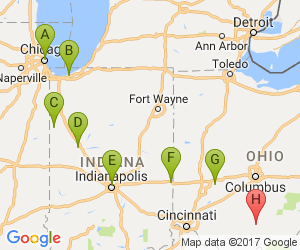 Chicago To Waverly Ohio Drive Travel Pinterest Travel