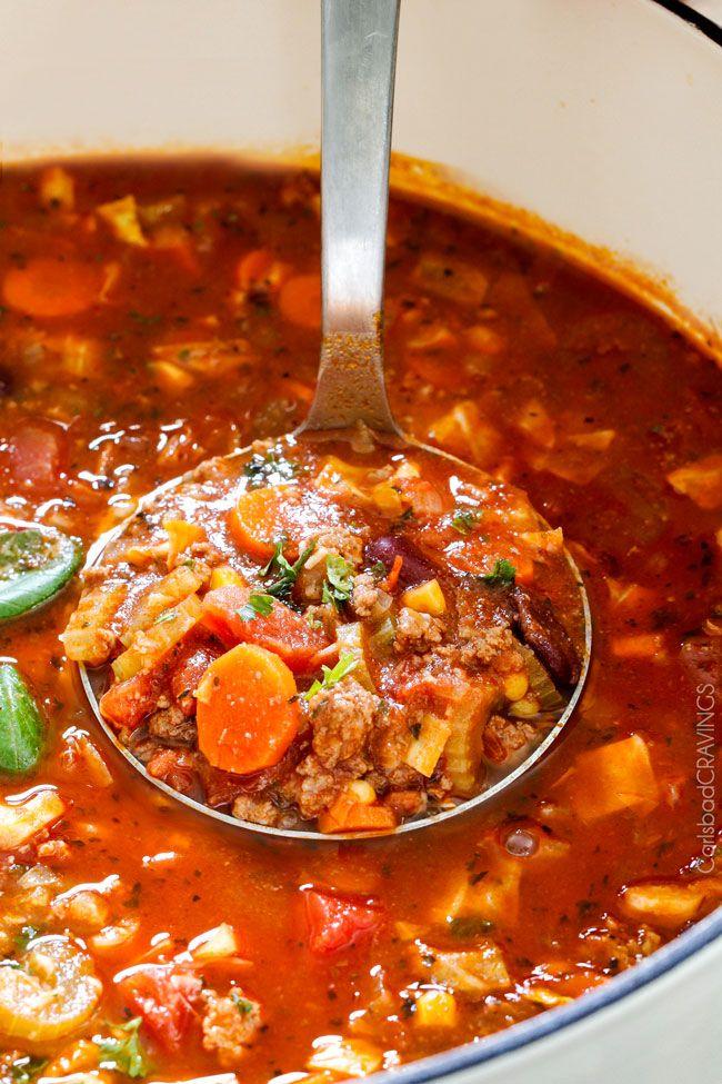 Italian Vegetable Soup Recipe Italian Vegetable Soup Tomato - Italian vegetable soup