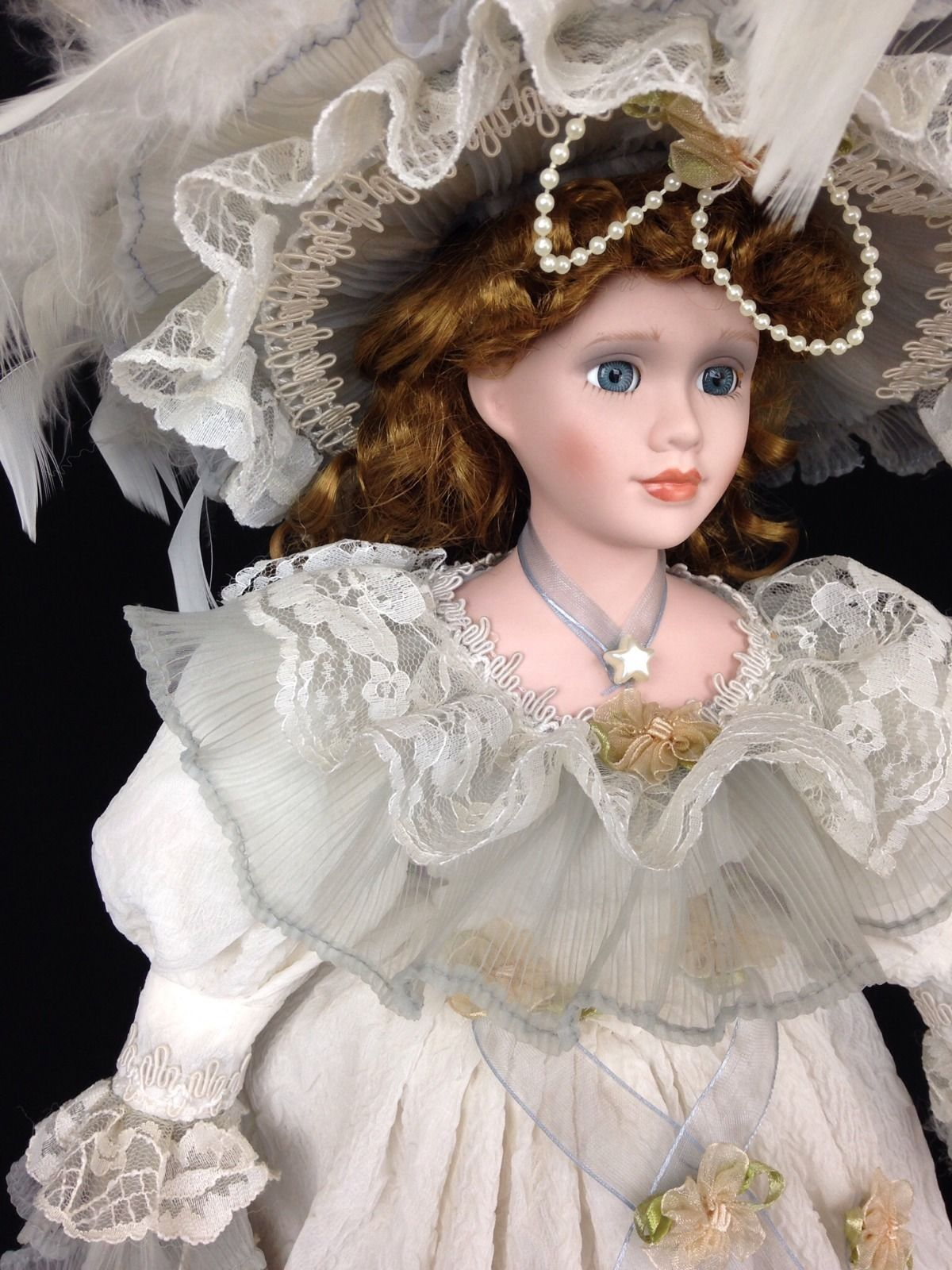 Duck House Heirloom Doll 19 Victorian Porcelain Doll